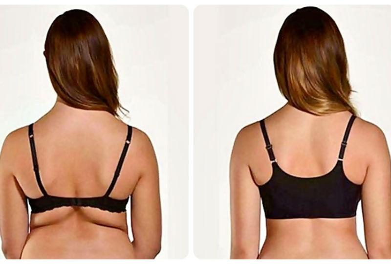 Elimina los gorditos de grasa de la espalda